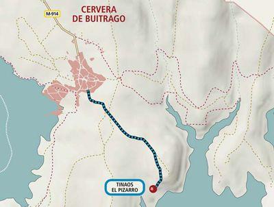 ruta de los Tinaos del Pizarro